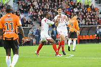 FOOTBALL - FRENCH CHAMPIONSHIP 2009/2010 - L1 - FC LORIENT v LILLE OSC - 15/05/2010 - PHOTO PASCAL ALLEE / DPPI -  JOY RICARDO MIGUEL MOREIRA COSTA (LILLE) AFTER HIS GOAL