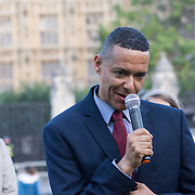 MP Clive Lewis attended Zero Hour Children's Lobby at Parliament square, London, UK on 2021-09-08.