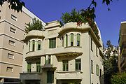 Neeman [Ne'eman] House (at 19 Pinsker street, Tel Aviv) designed by architect Arie Shtreimer in 1928 as a family residence in the Eclectic Style