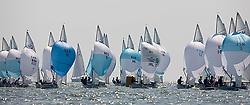 08_001392 © Sander van der Borch. Medemblik - The Netherlands,  May 22th 2008 . Second day of the Delta Lloyd Regatta 2008.