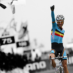 Niels Albert World Champion cyclocross 2011-2012 Koksijde