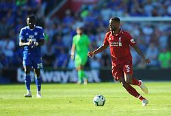 Georginio Wijnaldum of Liverpool runs with the ball- Mandatory by-line: Nizaam Jones/JMP - 21/04/2019 -  FOOTBALL - Cardiff City Stadium - Cardiff, Wales -  Cardiff City v Liverpool - Premier League