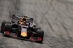 May 11, 2019 - Barcelona, Catalonia, Spain - Max Verstappen of Netherlands driving the (33) Aston Martin Red Bull Racing RB15 during qualifying for the F1 Grand Prix of Spain at Circuit de Barcelona-Catalunya on May 11, 2019 in Barcelona, Spain. (Credit Image: © Jose Breton/NurPhoto via ZUMA Press)