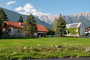 Imst is a town in the Austrian federal state of Tyrol. It lies on the River Inn in western Tyrol,