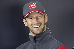 July 13, 2017 - Silverstone, Great Britain - Motorsports: FIA Formula One World Championship 2017, Grand Prix of Great Britain, ..#8 Romain Grosjean (FRA, Haas F1 Team) (Credit Image: © Hoch Zwei via ZUMA Wire)