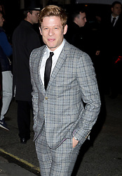 James Norton attending the Harper's Bazaar Woman of the Year awards at Claridges in London. Picture date: Monday October 31, 2016. Photo credit should read: Isabel Infantes / EMPICS Entertainment.