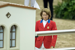 Madden Beezie, (USA) <br />  Longines FEI World Cup™ Jumping Final Las Vegas 2015<br />  © Hippo Foto - Dirk Caremans<br /> Final III round 2 - 19/04/15