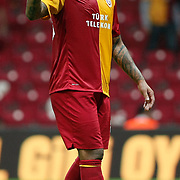 Galatasaray's Colin Kazim RICHARDS during their Turkish Super League soccer match Galatasaray between Eskisehirspor at the TT Arena at Seyrantepe in Istanbul Turkey on Monday, 26 September 2011. Photo by TURKPIX
