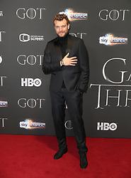 Pilou Asbaek attending the Game of Thrones Premiere, held at Waterfront Hall, Belfast.