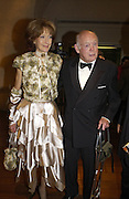 Lord and Lady Montagu, Opening of Hungary's Heritage-Princely Treasures from the Esterhaxy Collection. The Gilbert collection. Somerset House. 25 October 2004. ONE TIME USE ONLY - DO NOT ARCHIVE  © Copyright Photograph by Dafydd Jones 66 Stockwell Park Rd. London SW9 0DA Tel 020 7733 0108 www.dafjones.com