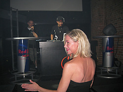 May 23, 2009 - Seattle, Washington, U.S. - MARY KAY LETOURNEAU-FUALAAU, 47, enjoys her husband VILI FUALAAU, 26, aka 'DJ HEADLINE' spinning as they co-hosted 'Hot for Teacher Night' at Seattle's Fuel Sports Eats & Beats. The infamous teacher-student couple, the ex-elementary teacher and her former sixth-grade student are now married. Fuel owner, M. Morris, said 'She has served her sentence, she's married her former student, and it's OK for them to have some fun on a Saturday night and this is the third time Letourneau and Fualaau have hosted a 'Hot for Teacher' night at the nightclub.' (Credit Image: © Daren Fentiman/ZUMA Wire)