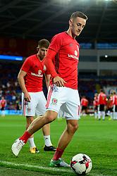 Tom Lockyer of Wales - Mandatory by-line: Dougie Allward/JMP - 02/09/2017 - FOOTBALL - Cardiff City Stadium - Cardiff, Wales - Wales v Austria - FIFA World Cup Qualifier 2018