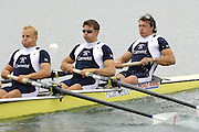 Munich, GERMANY, 2006, GBR M4- bow Steve Williams, No. 2 Peter Reed, No.2 Alex Partridge and Andy Twiggs Hodge, FISA, Rowing, World Cup,  on the Olympic Regatta Course, Munich, Fri. 26.05.2006. © Peter Spurrier/Intersport-images.com,  / Mobile +44 [0] 7973 819 551 / email images@intersport-images.com.[Mandatory Credit, Peter Spurier/ Intersport Images] Rowing Course, Olympic Regatta Rowing Course, Munich, GERMANY
