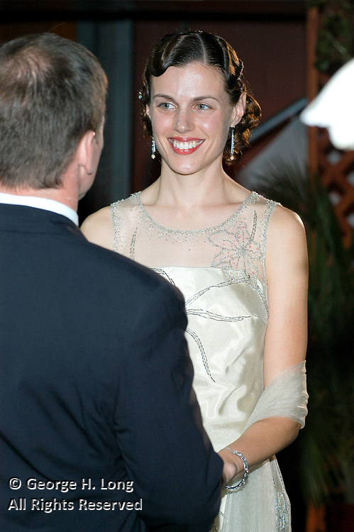 The wedding of Liz Maltby and Bart Ary in New Orleans on December 26, 2003.