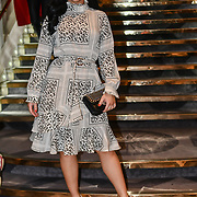 Alexandra Cane attend Stories From Arabia Fashion Show AW19, De Vere Grand Connaught Rooms, London, UK. 16 Feb 2019.