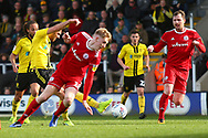 Burton Albion midfielder Scott Fraser (7) scores a goal and celebrates 1-2 during the EFL Sky Bet League 1 match between Burton Albion and Accrington Stanley at the Pirelli Stadium, Burton upon Trent, England on 23 March 2019.