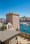 Museum of European and Mediterranean Civilisations at the Old Port in Marseille, France.