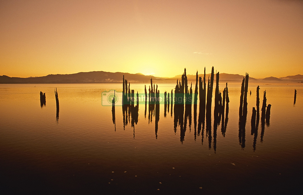 July 21, 2019 - Tillamook Bay At Sunrise, Oregon, Usa (Credit Image: © Bilderbuch/Design Pics via ZUMA Wire)