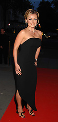 Singer KATHERINE JENKINS at a reception to launch Montblanc's First Fine Jewellery Collection held at The Victoria & Albert Museum, Cromwell Road, London SW7 on 24th April 2007.<br /><br />NON EXCLUSIVE - WORLD RIGHTS