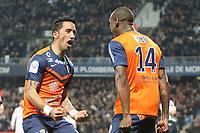 joie but Lucas Barrios (mhsc) et Kevin BERIGAUD (Montpellier)