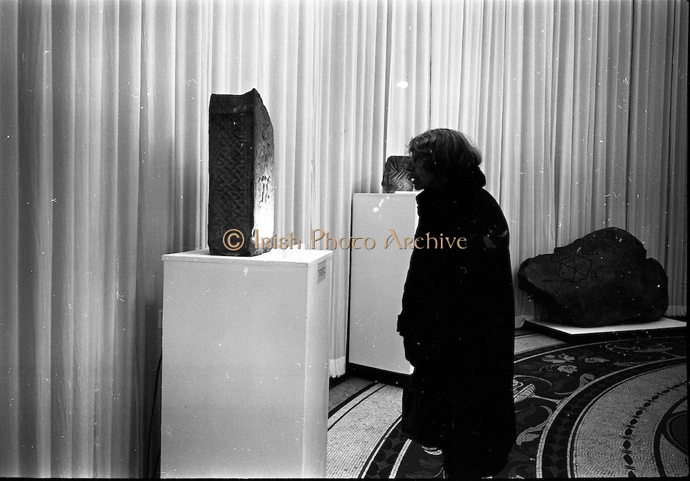 14/11/1967<br /> 11/14/1967<br /> 14 November 1967<br /> ROSC 1967 Exhibition at the National Museum. The exhibition of Celtic Art held at the National Museum, Kildare Street in connection with the ROSC Exhibition of Modern Art was opened to the public on Tuesday.