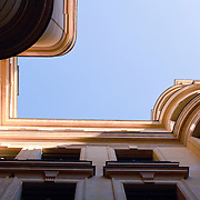 Abstract view of parisian building.