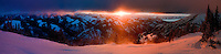 Sunset from Mount Glory