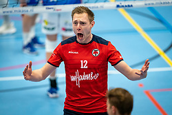 Daan van Haarlem of Taurus celebrate during the league match Taurus - Amysoft Lycurgus on January 16, 2021 in Houten.