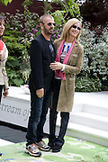 RINGO STARR AND BARBARA BACH, Opening day of the Chelsea Flower Show. Royal Hospital Grounds. London. 19 May 2008 *** Local Caption *** -DO NOT ARCHIVE-© Copyright Photograph by Dafydd Jones. 248 Clapham Rd. London SW9 0PZ. Tel 0207 820 0771. www.dafjones.com.
