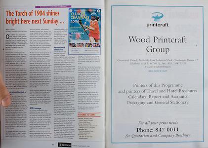 All Ireland Senior Hurling Championship Final,.12.09.2004, 09.12.2004, 12th September 2004,.Senior Cork 0-7, Kilkenny 0-9,.Minor Kilkenny 1-18 ,  Galway 3-12 (draw),.12092004AISHCF,.Wood Printcraft Group,