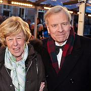 NLD/Amsterdam/20101128 - Opening Delamar theater, Jaap de Hoop Scheffer en partner Jeanine