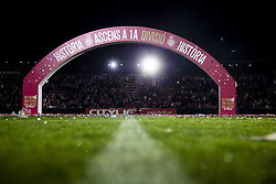 June 4, 2017 - Girona, Spain - Celebrations of the Girona FC team and supporters after certificate his promotion ascent to the La Liga during the Spanish championship La Liga 1|2|3 football match between Girona FC vs Zaragoza at Montilivi stadium on June 4, 2017 in Girona, Spain. (Credit Image: © Xavier Bonilla/NurPhoto via ZUMA Press)