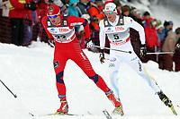 Petter Northug (NOR) und Daniel Rickardsson (SWE) (Pascal Muller/EQ Images)