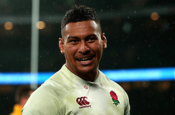 Nathan Hughes of England - Mandatory by-line: Robbie Stephenson/JMP - 18/11/2017 - RUGBY - Twickenham Stadium - London, England - England v Australia - Old Mutual Wealth Series