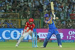 May 8, 2018 - Jaipur, Rajasthan, India - Rajasthan Royals batsman Jos Butler  plays a shot  during the IPL T20 match against Kings XI Punjab at Sawai Mansingh Stadium in Jaipur,Rajasthan,India on 8th May,2018.(Photo By Vishal Bhatnagar/NurPhoto) (Credit Image: © Vishal Bhatnagar/NurPhoto via ZUMA Press)