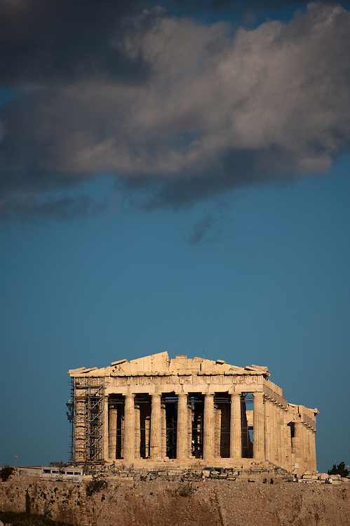Clouds over the Parthenon