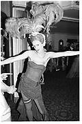 Valentine Guinness, Piers Gaveston Ball, Park Lane Hotel 13.05.83© Copyright Photograph by Dafydd Jones 66 Stockwell Park Rd. London SW9 0DA Tel 020 7733 0108 www.dafjones.com