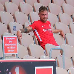 Fussball - 3.Bundesliga - Saison 2019/20<br /> Kaiserslautern -  Fritz-Walter-Stadion 20.6.2020<br /> 1. FC Kaiserslautern (fck) - KFC Uerdingen (uer) 4:0<br /> Sauer über seine Auswechslung: Timmy THIELE (1. FC Kaiserslautern)<br /> <br /> Foto © PIX-Sportfotos *** Foto ist honorarpflichtig! *** Auf Anfrage in hoeherer Qualitaet/Aufloesung. Belegexemplar erbeten. Veroeffentlichung ausschliesslich fuer journalistisch-publizistische Zwecke. For editorial use only. DFL regulations prohibit any use of photographs as image sequences and/or quasi-video.