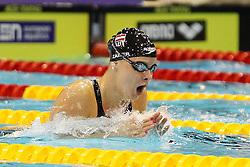 20.08.2014, Europa Sportpark, Berlin, GER, LEN, Schwimm EM 2014, 200m, Lagen, Frauen, Halbfinale, im Bild Lisa Zaiser (Oesterreich) // during the semifinal of women's 200m Medley of the LEN 2014 European Swimming Championships at the Europa Sportpark in Berlin, Germany on 2014/08/20. EXPA Pictures © 2014, PhotoCredit: EXPA/ Eibner-Pressefoto/ Lau<br /> <br /> *****ATTENTION - OUT of GER*****