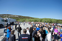 Bomprotest på Kverve 19. mai.<br /> Foto: Svein Ove Ekornesvåg