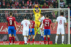 November 15, 2018 - Gdansk, Poland - Jiri Pavlenka of Czech Republic vies  Piotr Zielinski of Poland during the international friendly soccer match between Poland and Czech Republic at Energa Stadium in Gdansk, Poland on 15 November 2018. (Credit Image: © Foto Olimpik/NurPhoto via ZUMA Press)