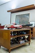 Milan, Corrado Lopresto in his office