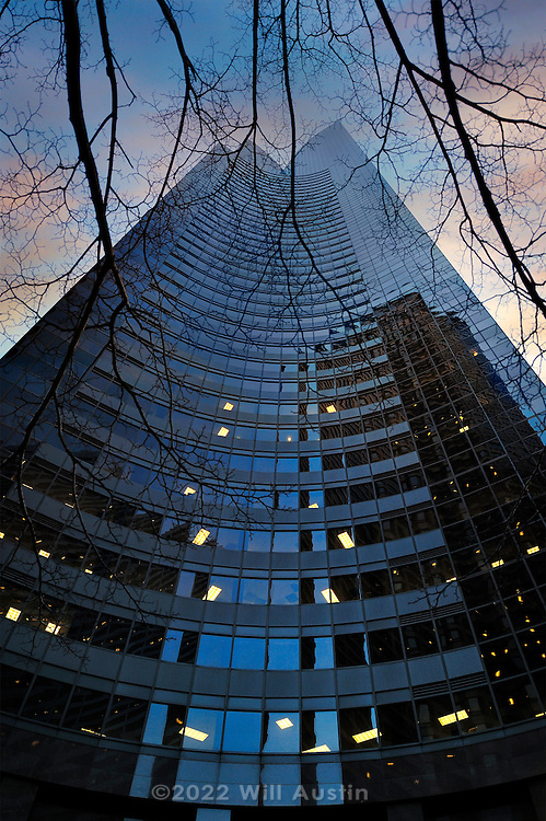 The Columbia Center (formerly the Bank of America Tower and the Columbia Seafirst Center) is the tallest skyscraper in the downtown Seattle skyline and the 20th tallest in the United States.