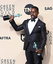 January 21, 2018 Los Angeles, CA This Is Us cast 24th Annual Screen Actors Guild Awards held at the Shrine Exposition Center. 21 Jan 2018 Pictured: Sterling K. Brown. Photo credit: OConnor-Arroyo / AFF-USA.com / MEGA TheMegaAgency.com +1 888 505 6342