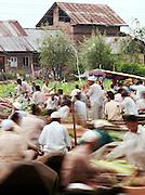 The Floating Market on Lake Dal, Srinigar, Kashmir, India