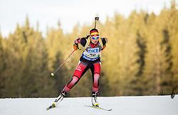 Susanne Hoffmann (AUT) competes during Women 7,5 km Sprint at day 2 of IBU Biathlon World Cup 2015/16 Pokljuka, on December 18, 2015 in Rudno polje, Pokljuka, Slovenia. Photo by Vid Ponikvar / Sportida