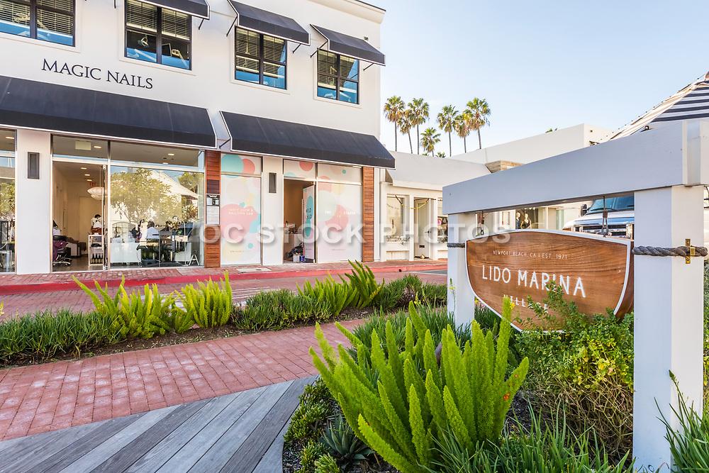 Lido Marina Village in Newport Beach