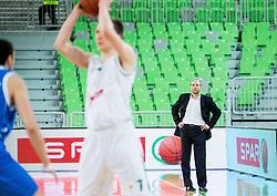 Konstantin Papazov, head coach of Levski during basketball match between KK Union Olimpija Ljubljana and BC Levski Sofia (BUL) in 12th Round of ABA League 2014/15, on December 13, 2014 in Arena Stozice, Ljubljana, Slovenia. Photo by Vid Ponikvar / Sportida