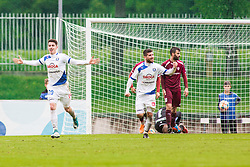 Dario VIZINGER celebrate during Football match between NK Triglav Kranj and NK Celje, on May 12, 2019 in Sport center Kranj, Kranj, Slovenia. Photo by Peter Podobnik / Sportida