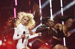 Zara Larsson bei Verleihung der MTV Europe Music Awards in Rotterdam / 061116<br /> <br /> *** The show during the MTV Europe Music Awards in Rotterdam, Netherlands, November 06, 2016 ***
